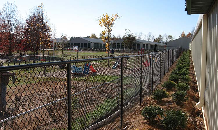 Daycare Center Fence | Hall Fence | Sanford, NC