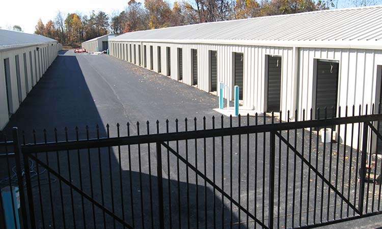 Industrial Storage Fence | Hall Fence | Sanford, NC