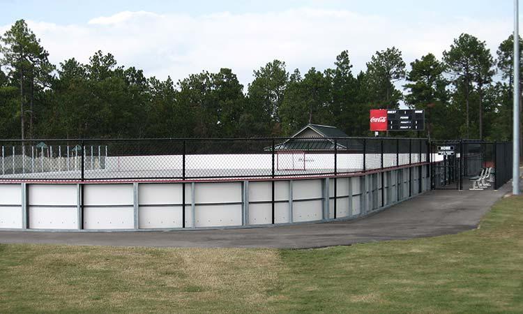 Recreational Hockey Fence | Hall Fence | Sanford, NC